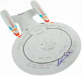 Autographs:Others, William Shatner Signed USS Enterprise Starship Display Toy. ...