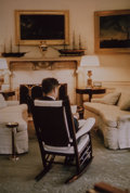 Photographs, Cornell Capa (American, 1918-2008). President Kennedy in the Oval Office, 1961. Dye coupler, printed later. 19-1/2 x 13-...
