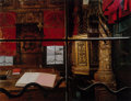 Photographs, Neil Folberg (American, b. 1950). Canton Synagogue, Venice, Italy, 1994. EverColor pigment, circa 1996. 15-1/2 x...