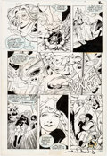 Original Comic Art:Panel Pages, Alan Davis and Paul Neary Adventures of the Outsiders #35Story Page 2 Original Art (DC, 1986)....