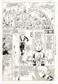 Original Comic Art:Panel Pages, Keith Giffen and Larry Mahlstedt Legion of Super-Heroes #301Story Page 3 Original Art (DC, 1983)....