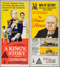 "Movie Posters:Documentary, The Finest Hours & Other Lot (Columbia, 1964). Australian Daybills (2) (13"" X 30""). Documentary.. ... (Total: 2 Items)"
