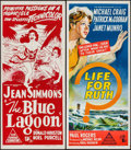 "Movie Posters:Adventure, The Blue Lagoon & Others Lot (Rank, 1949). Australian Daybills(3) (13"" X 30""). Adventure.. ... (Total: 3 Items)"