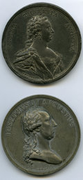 Austria, Austria: A Pair of white-metal Commemorative Medals 1765-1785,...(Total: 2 coins)