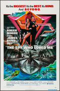 "Movie Posters:James Bond, The Spy Who Loved Me (United Artists, 1977). One Sheet (27"" X 41""). James Bond.. ..."