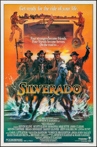"Silverado (Columbia, 1985). One Sheet (27"" X 41""). Western"