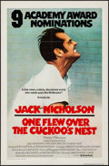 "Movie Posters:Academy Award Winners, One Flew Over the Cuckoo's Nest (United Artists, 1975).International One Sheet (27"" X 41""). Academy Award Winners.. ..."