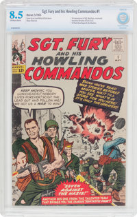 Sgt. Fury and His Howling Commandos #1 (Marvel, 1963) CBCS VF+ 8.5 Off-white to white pages