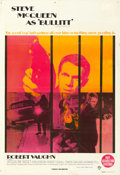 "Movie Posters:Crime, Bullitt (Warner Brothers, 1968). Australian One Sheet (27"" X 40"")....."
