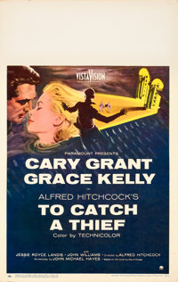 "To Catch a Thief (Paramount, 1955). Window Card (14"" X 22"")"