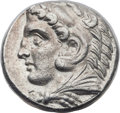 Ancients:Greek, Ancients: MACEDONIAN KINGDOM. Alexander III the great (336-323 BC).AR tetradrachm (25mm, 17.00 gm, 3h). NG...