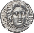 Ancients:Greek, Ancients: CARIAN ISLANDS. Rhodes. Ca. 229-205 BC. AR tetradrachm (27mm, 13.64 gm, 11h). NGC MS 5/5 - 4/5....