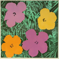 Andy Warhol (1928-1987) Flowers, 1964 Offset lithograph in colors 22 x 22 inches (55.9 x 55.9 cm)