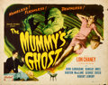 "Movie Posters:Horror, The Mummy's Ghost (Realart, R-1951). Half Sheet (22"" X 28"").. ..."