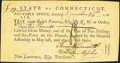 Colonial Notes:Connecticut, State of Connecticut Pay Table Office £12 December 26, 1781 Signedby Finn Wadsworth About New.. ...