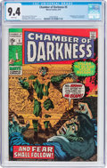 Bronze Age (1970-1979):Horror, Chamber of Darkness #5 (Marvel, 1970) CGC NM 9.4 White pages....