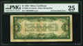 Error Notes:Inverted Reverses, Inverted Back. Fr. 1606 $1 1934 Silver Certificate. PMG Very Fine25.. ...