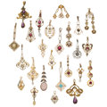 Estate Jewelry:Pendants and Lockets, Diamond, Multi-Stone, Gold, Metal Lavaliers . ... (Total: 25 Items)