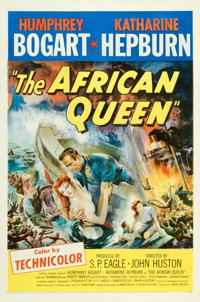 """The African Queen (United Artists, 1952). One Sheet (27"""" X 41"""")"""