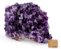 Minerals:Cabinet Specimens, Amethyst. Artigas. Artigas Department.Uruguay. 5.12 x 4.25 x 4.72 inches (13.00 x 10.80 x 12.00cm). ...