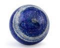 Lapidary Art:Eggs and Spheres, Lapis Sphere. Afghanistan. 3.15 inches (8.00 cm) indiameter. ...