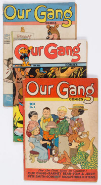 Our Gang Comics #1-59 Complete Series Group (Dell, 1942-49) Condition: Average GD/VG.... (Total: 59 Comic Books)