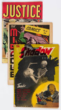 Golden Age (1938-1955):Miscellaneous, Comic Books - Assorted Golden Age Comics Group of 7 (Various Publishers, 1940s) Condition: Average VG-.... (Total: 7 Comic Books)