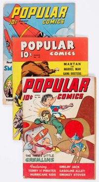 Popular Comics Group of 38 (Dell, 1940-48) Condition: Average VG+.... (Total: 38 Comic Books)