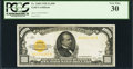 Small Size:Gold Certificates, Fr. 2408 $1,000 1928 Gold Certificate. PCGS Very Fine 30.. ...