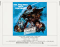"Movie Posters:Science Fiction, The Empire Strikes Back (20th Century Fox, 1980). Half Sheet (22"" X28"") Style B, Tom Jung Artwork.. ..."