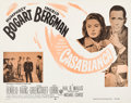 "Movie Posters:Academy Award Winners, Casablanca (Dominant, R-1956). Half Sheet (22"" X 28"").. ..."