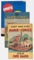 Golden Age (1938-1955):Miscellaneous, March of Comics Group of 9 (K. K. Publications, Inc., 1947-51) Condition: Average VG-.... (Total: 9 Comic Books)