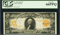 Large Size:Gold Certificates, Fr. 1186 $20 1906 Gold Certificate PCGS Gem New 66PPQ.. ...