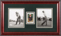 Golf Collectibles:Autographs, 1992 Golf's Greatest Ben Hogan (#11) Signed Promotional Card....