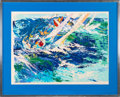 "Miscellaneous Collectibles:General, 1976 ""High Seas Sailing"" Serigraph Signed by LeRoy Neiman...."