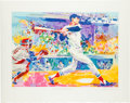 """Baseball Collectibles:Others, 1991 """"Ted Williams - The Splendid Splinter"""" Serigraph Signed by LeRoy Neiman. ..."""