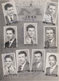 Football Collectibles:Programs, 1948 Michigan Wolverines Team Signed Rose Bowl Program - With Len Ford! ...