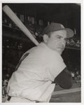 Baseball Collectibles:Photos, Early 1960's Yogi Berra Original Photograph by Don Wingfield,PSA/DNA Type 1. ...