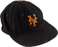 """Baseball Collectibles:Others, 1957 Don """"Mandrake the Magician"""" Mueller New York Giants Game Worn Cap - Final Season in New York!...."""