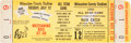 Baseball Collectibles:Tickets, 1955 All-Star Game Full Ticket. ...