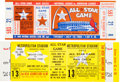 Baseball Collectibles:Tickets, 1965-66 All-Star Game Full Tickets Lot of 2. ...