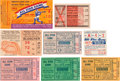 Baseball Collectibles:Tickets, 1941-49 All-Star Game Ticket Stubs Lot of 8. ...