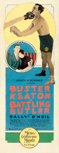 "Movie Posters:Comedy, Battling Butler (MGM, 1926). Insert (14"" X 36"").. ..."