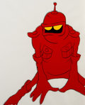 Animation Art:Production Cel, Wizards Peace Production Cel and Animation Drawing (RalphBakshi, 1977).... (Total: 2 )