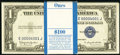 Small Size:Silver Certificates, Fr. 1618 $1 1935H Silver Certificates. Gem Crisp Uncirculated. Original Pack of 100 Low Serial Numbers.. ... (Total: 100 notes)