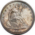 Seated Half Dollars, 1839 50C With Drapery, WB-102, MS65+ PCGS. CAC....