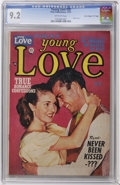 """Golden Age (1938-1955):Romance, Young Love #28 Davis Crippen (""""D"""" Copy) pedigree (Prize, 1951) CGCNM- 9.2 Off-white pages...."""