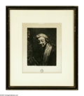 Prints:American, UNKNOWN ARTIST. Portrait of a Man, 1864. Print. Titled and datedlower center. ...