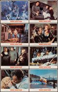 """Movie Posters:War, Where Eagles Dare (MGM, 1968). Lobby Card Set of 8 (11"""" X 14"""").War.. ... (Total: 8 Items)"""