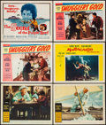 "Movie Posters:Adventure, The Old Man and the Sea & Others Lot (Warner Brothers, 1958).Lobby Cards (5), Title Card, & Lobby Card Set of 8 (11"" X14"")... (Total: 14 Items)"